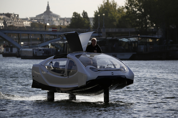 Paríž testuje na Seine