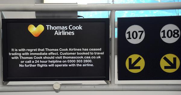 CK Thomas Cook skrachovala