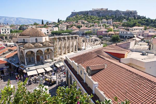 Aténska štvrť Monastiraiki
