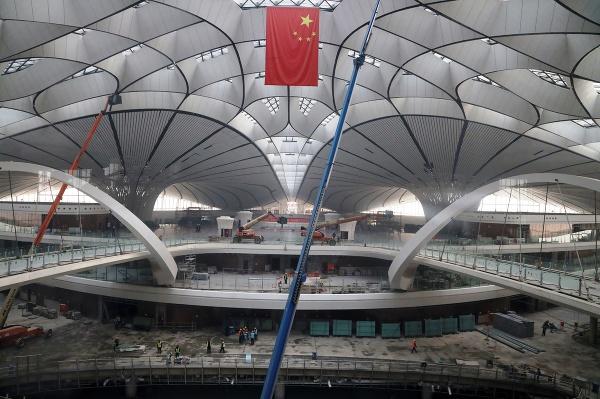 Výstavba letiska Ta-sing pri