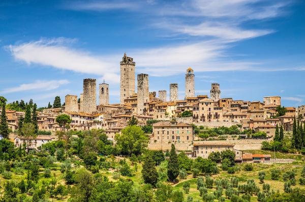 San Gimignano, Taliansko