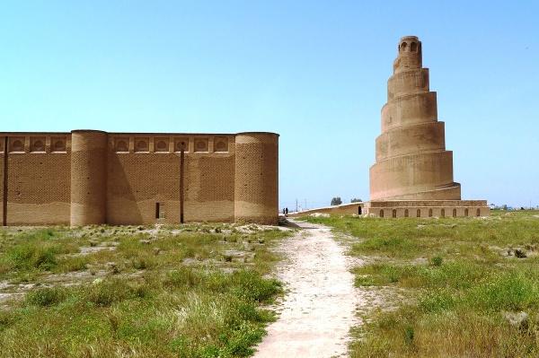 Špirálový minaret, Samarra, Irak