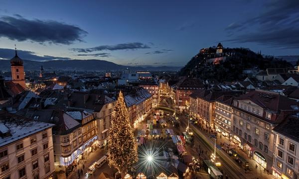 Vianoce v Grazi