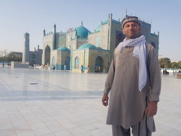Štefan Polakovič v Afganistane