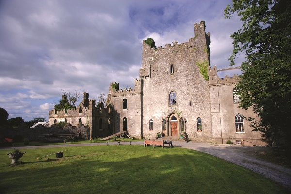 Írsky hrad Leap