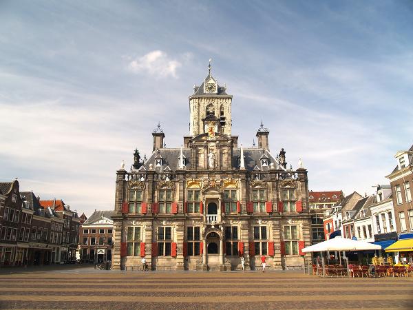 Holandské mesto Delft