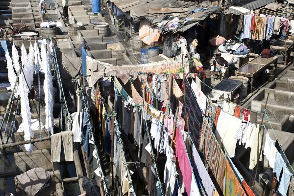 Práčovňa Dhobi Ghat v