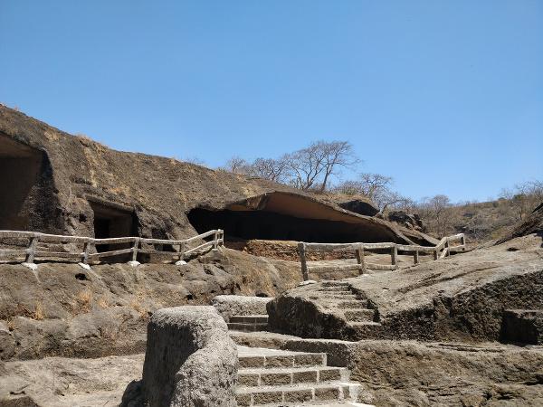 Jaskyne Kanheri v Bombaji