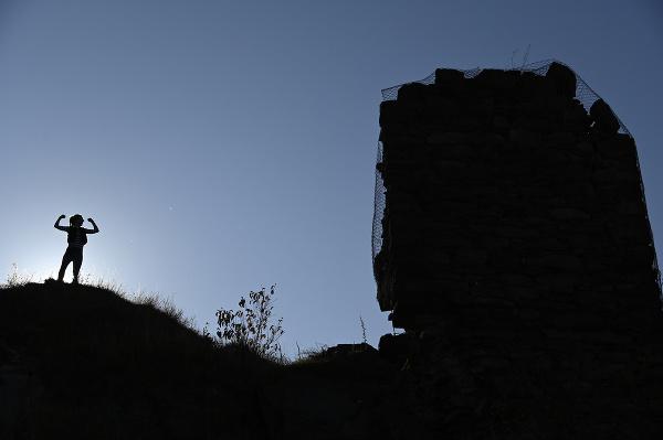 Zrúcanina niekdajšieho kráľovského hradu