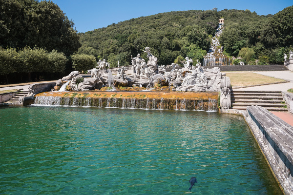 Palác Caserta v Taliansku