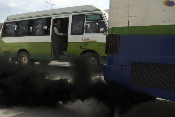 Znečistenie ovzdušia v Afganistane