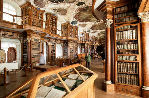 Knižnica kláštora svätého Havla