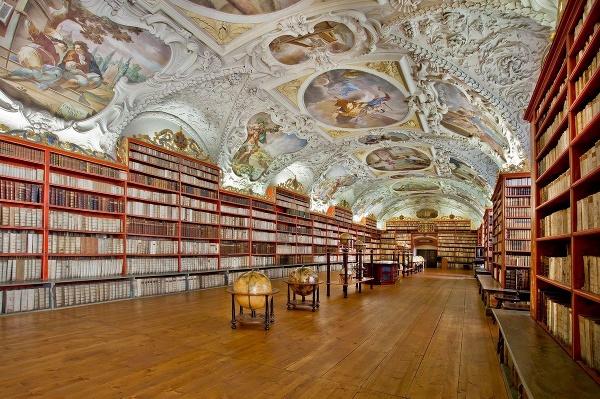 Knižnica Strahovského kláštora –