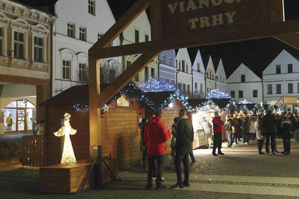 Vianočné trhy na Mariánskom