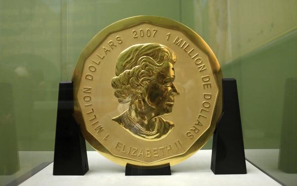 Ukradnutá kanadská minca Big
