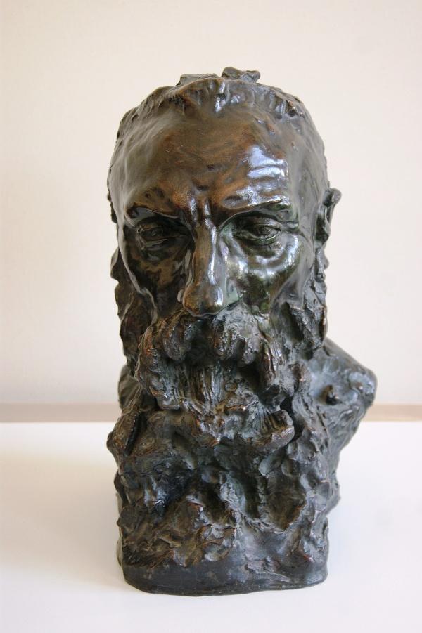Ukradnutá Rodinova busta