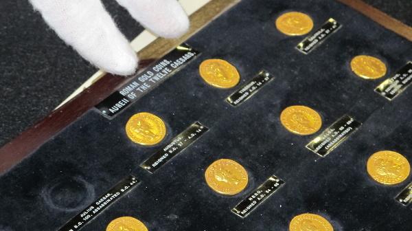 Ilustračné foto zlatých rímskych