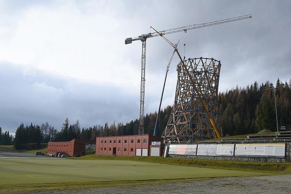 Výstavba vyhliadkovej veže v