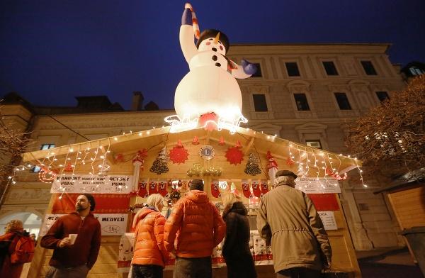 Vianočné trhy v Banskej
