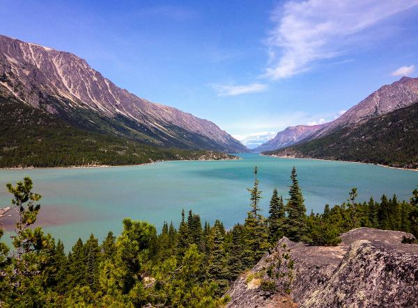 Chilkoot trail - zlatokopecký