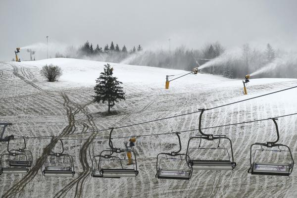 Na snímke lyžiarske stredisko