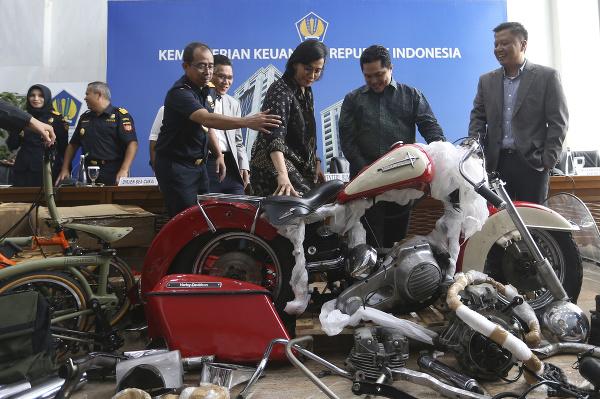 Pašovaná motorka