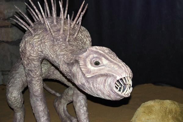 Tajomné monštrum v múzeu