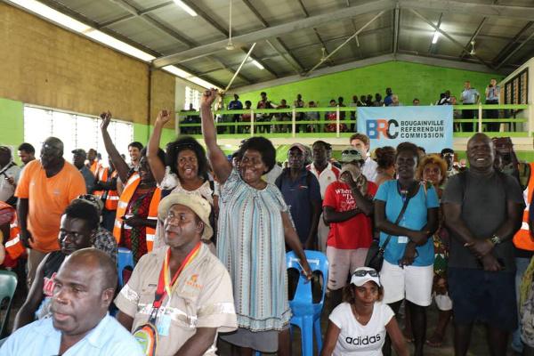 Voľby v Bouganville