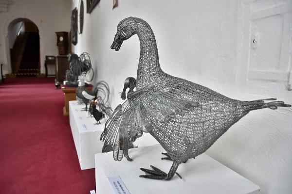 Na snímke exponát výstavy
