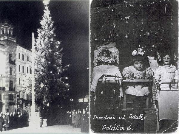 Prvý vianočný stromček a