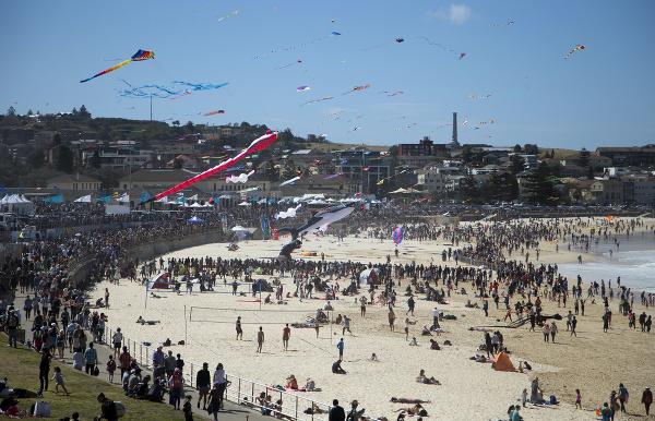 Pláž Bondi, Sydney, Austrália