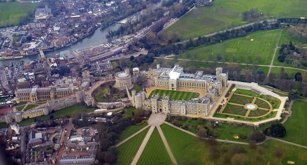 Palác Blenheim, Oxfordshire