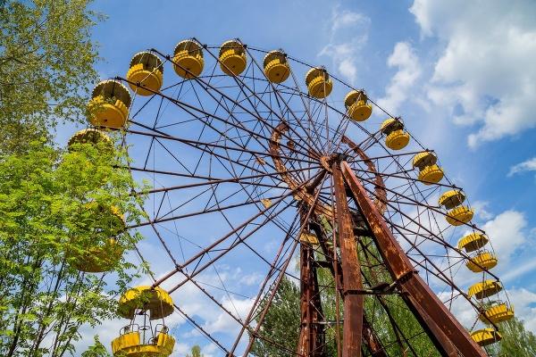 Jedným zo symbolov černobyľskej
