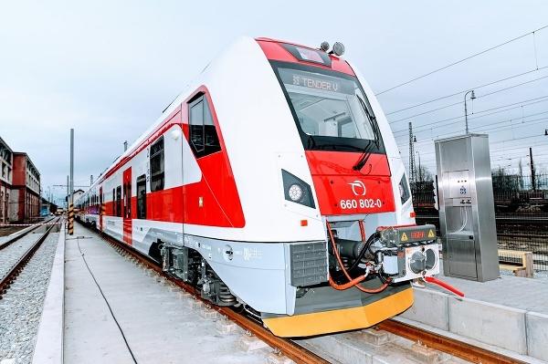 ZSSK predstavila elektrickú jednotku