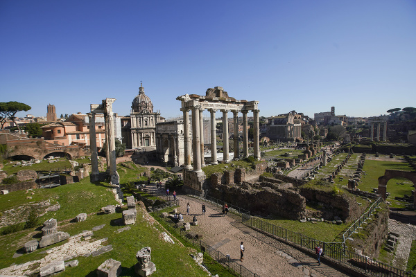 Forum Romanum v Ríme