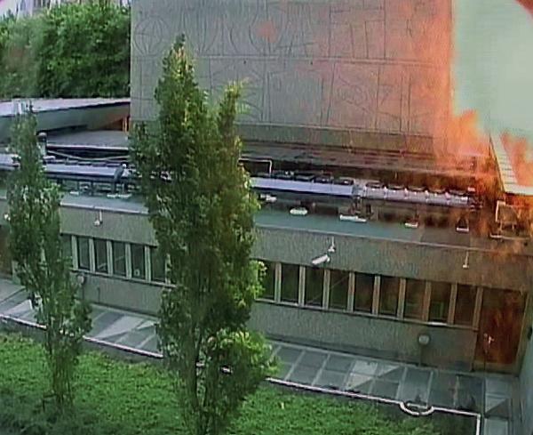 Breivikov bombový útok na