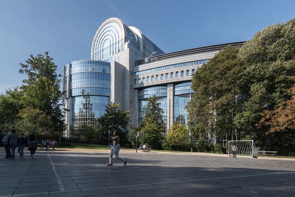 Budova Európskeho parlamentu v