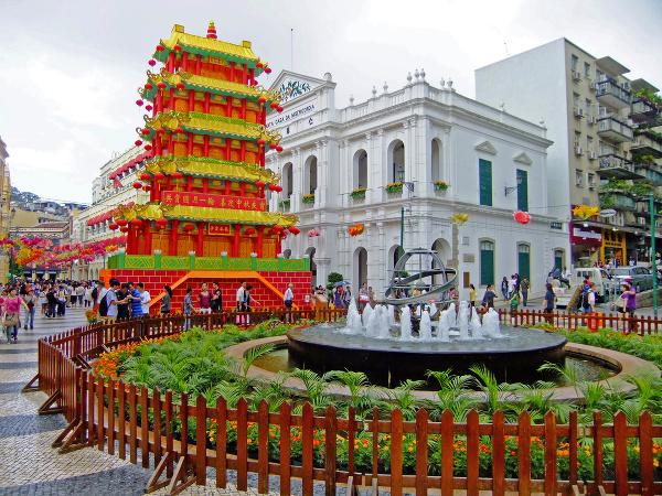 Makao, Čína