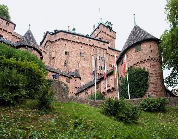Hrad Haut-Koenigsbourg
