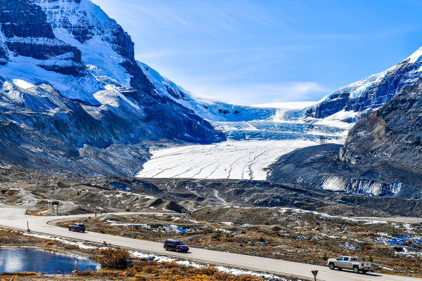 Athabasca Glacier, Columbia Icefield