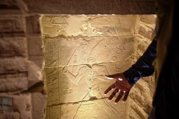 Stupňovitá pyramída faraóna Džosera,