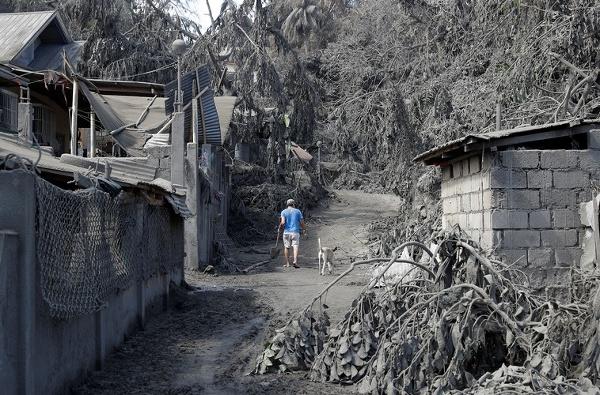Okolie filipínskej sopky Taal