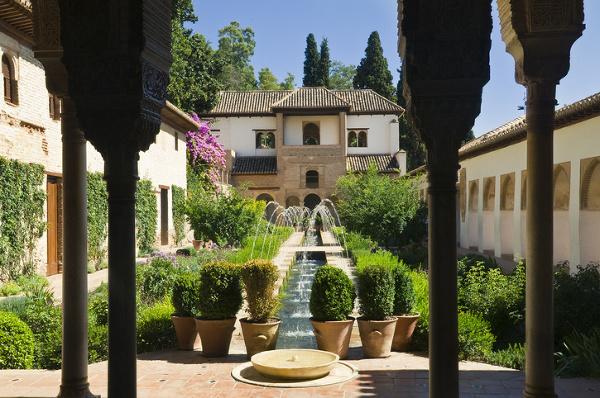 Záhrada pri letnom paláci