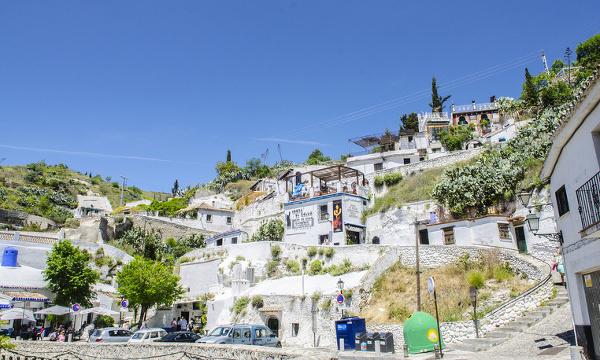 Štvrť Sacromonte, Granada
