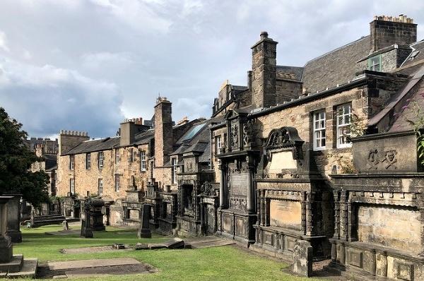 Cintorín Kirkyard, Edinburgh