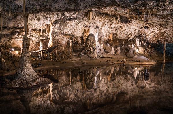 Jaskyňa Punkevní, Česko