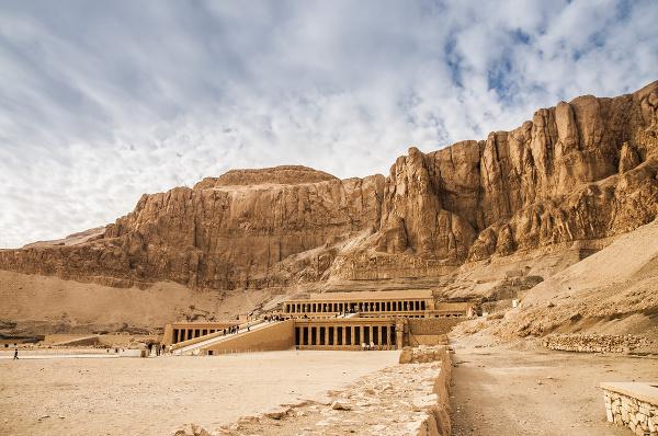 Chrám kráľovnej Hatšepsut, Egypt