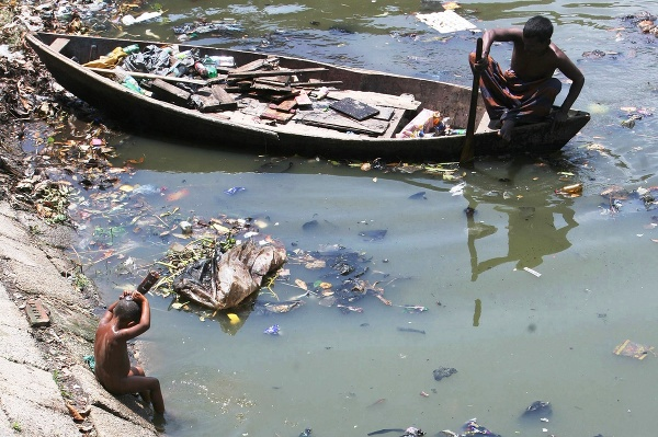 Rieka Buriganga je najšpinavšou