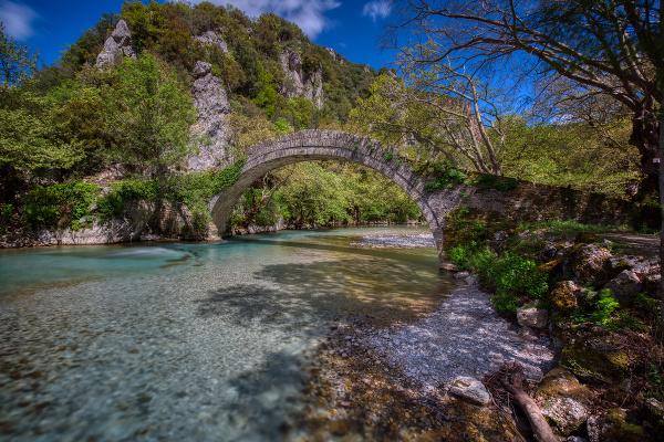 Kamenný most Klidhonias