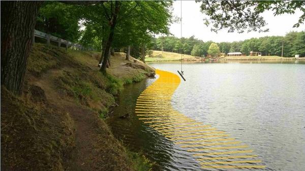 Na brehu jazera Počúvadlo
